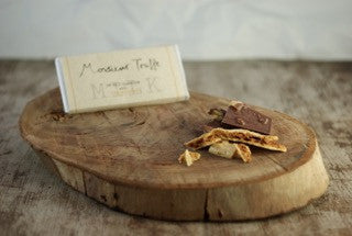 Organic Monsieur Truffe - 51% Milk with Homemade Honeycomb (100g)