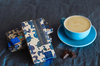 Jasper + Myrtle - Nunu Twilight Bougainville 63% Dark Milk Chocolate Bar - City Chocolates