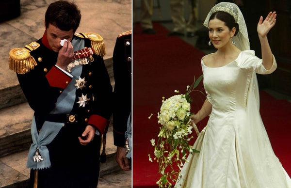 Prince Frederik and Princess Mary Bridal Wedding Headpiece and Veil