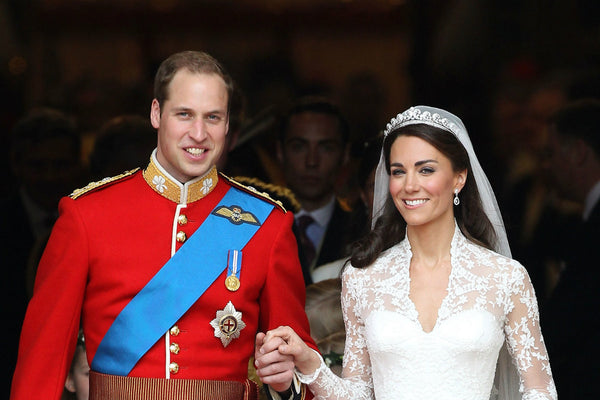 Prince William and Princess Catherine Bridal Wedding Headpiece and Veil