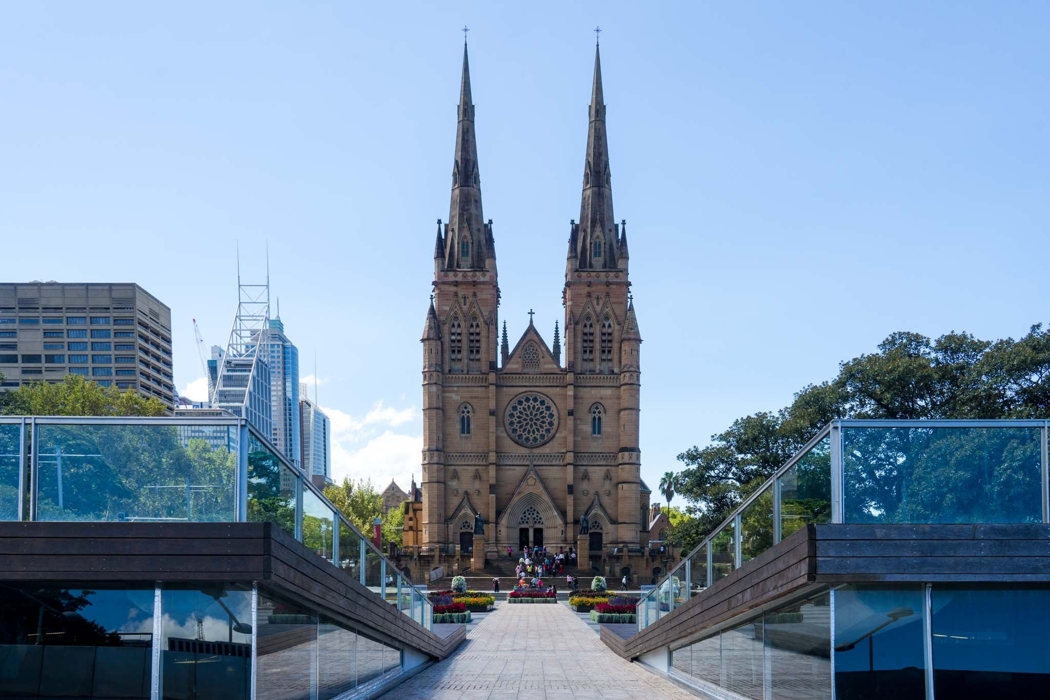 9 Location For Wedding Photos In Sydney - St Marys Cathedral