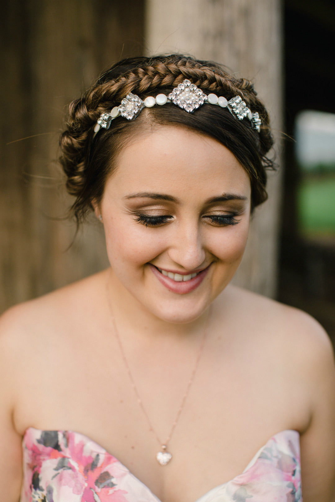 Bridal Blue Real Brides | Kate T | Custom Wedding Crowns Tiaras and Headpieces