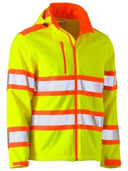 Bisley Soft Shell Hi Vis Jacket