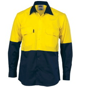 DNC Hi Vis Long Sleeve Shirt
