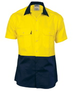 DNC Hi Vis Short Sleeve Shirt