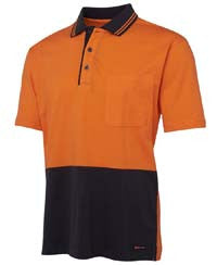 JBs Wear Hi Vis Cotton Polo