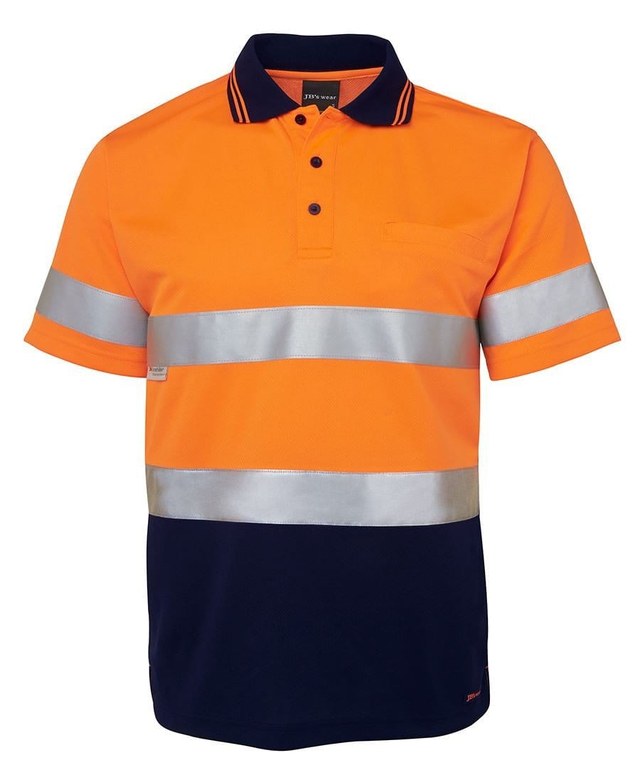 JBs Wear Hi Vis Traditional Polo