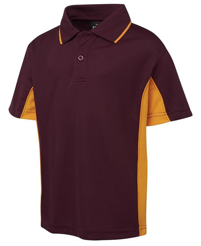 7PP3 Kids Contrast Polo - OZ Workwear