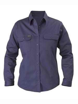 Bisley Ladies Drill Shirt