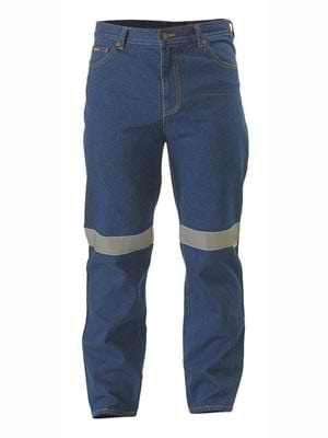 Bisley Rough Rider Jeans with 3M Tape