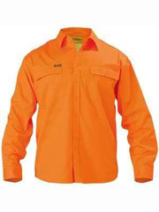 Bisley Hi Vis Long Sleeve Shirt