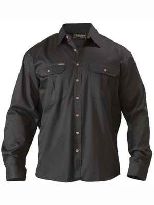 Bisley Long Sleeve Drill Shirt