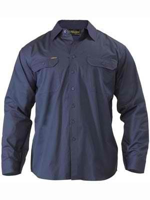 Bisley Lightweight Long Sleeve Drill Shirt