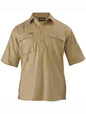 Bisley Closed Front Short Sleeve Shirt