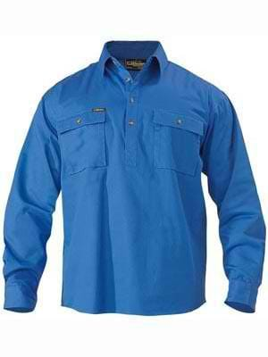 Bisley Closed Front Work Shirt