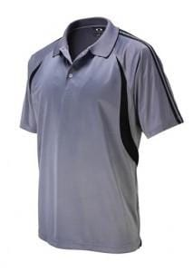 Biz Collection Mens Flash Polo