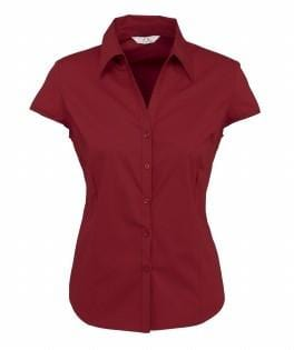 Biz Collection Ladies Metro Cap Sleeve Shirt