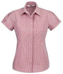 Biz Collection Ladies Short Sleeve Berlin Shirt