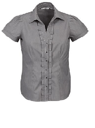 Biz Collection Ladies Short Sleeve Edge