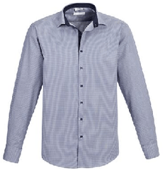 Biz Collection Mens Edge Shirt Long Sleeve