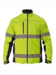 Bisley Hi Vis Soft Shell Jacket