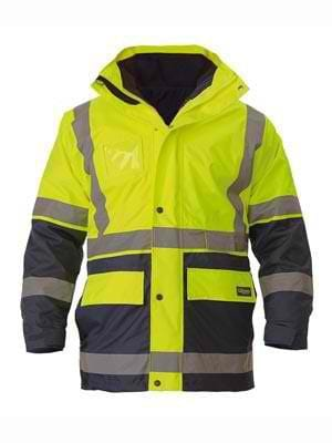 Bisley Hi Vis 5 in 1 Jacket