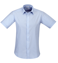 Biz Collection Mens Berlin Short Sleeve Shirt