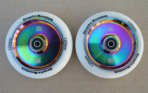 DIS 120mm Hollow Slicks – Rainbow Metallic