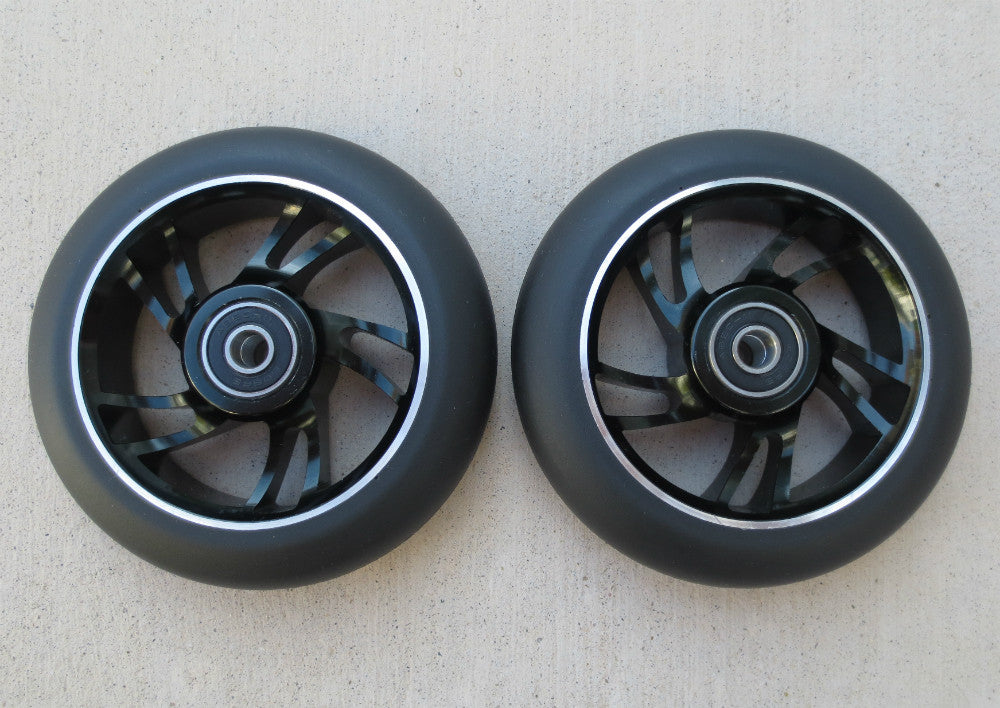 DIS 110mm Metal Core Park Wheels – Black/Black