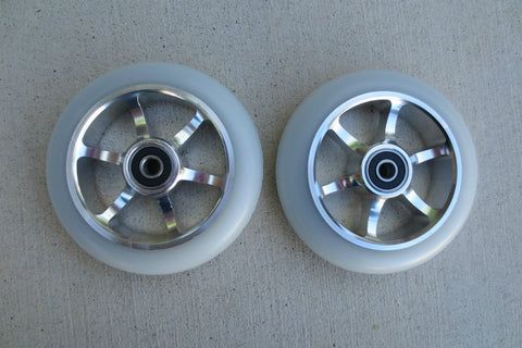 "DIS 110mm ""Smoked"" Metal Core Wheels"