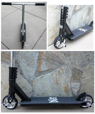 DIS Assault 120 Complete Custom Pro Scooter