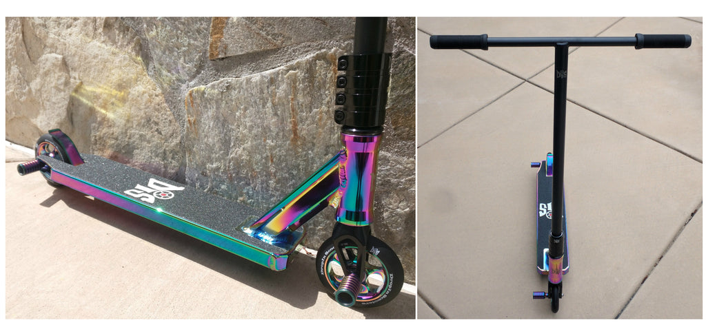 DIS Slick Blackout Complete Custom Pro Scooter
