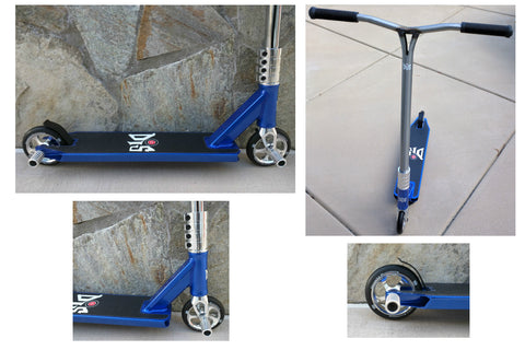 DIS Blue Devil 120 Complete Custom Pro Scooter