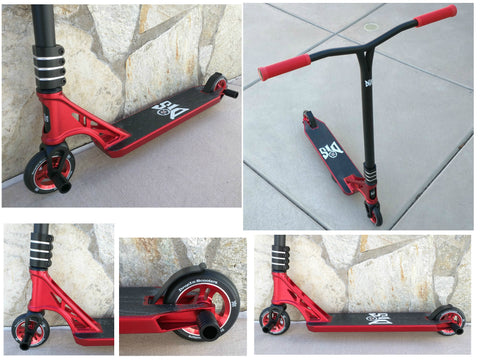 DIS Red Devil Complete Custom Pro Scooter