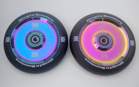 DIS 120mm Hollow Slicks – Black Rainbow Metallic