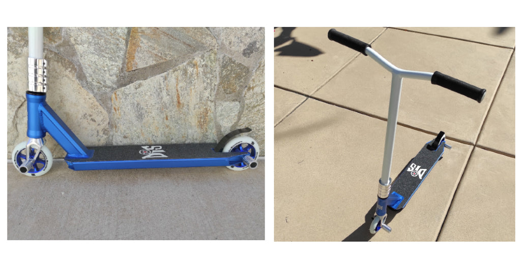 DIS Blue Devil Complete Custom Pro Scooter