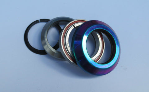 DIS Integrated Threadless Scooter Headset – Oil Slick