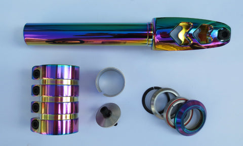 Threadless Integrated Oil Slick SCS Package