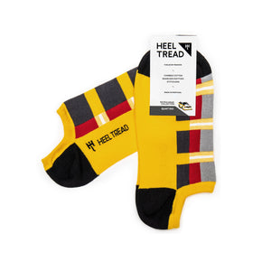 Heel Tread Quattro Ankle Socks