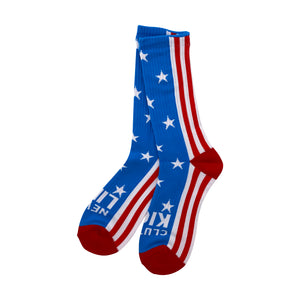 Clutch Kick Never Lift Socks (All American)