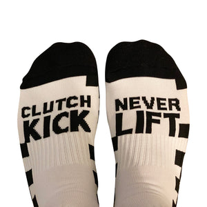 Clutch Kick Never Lift Socks (Finish Line)