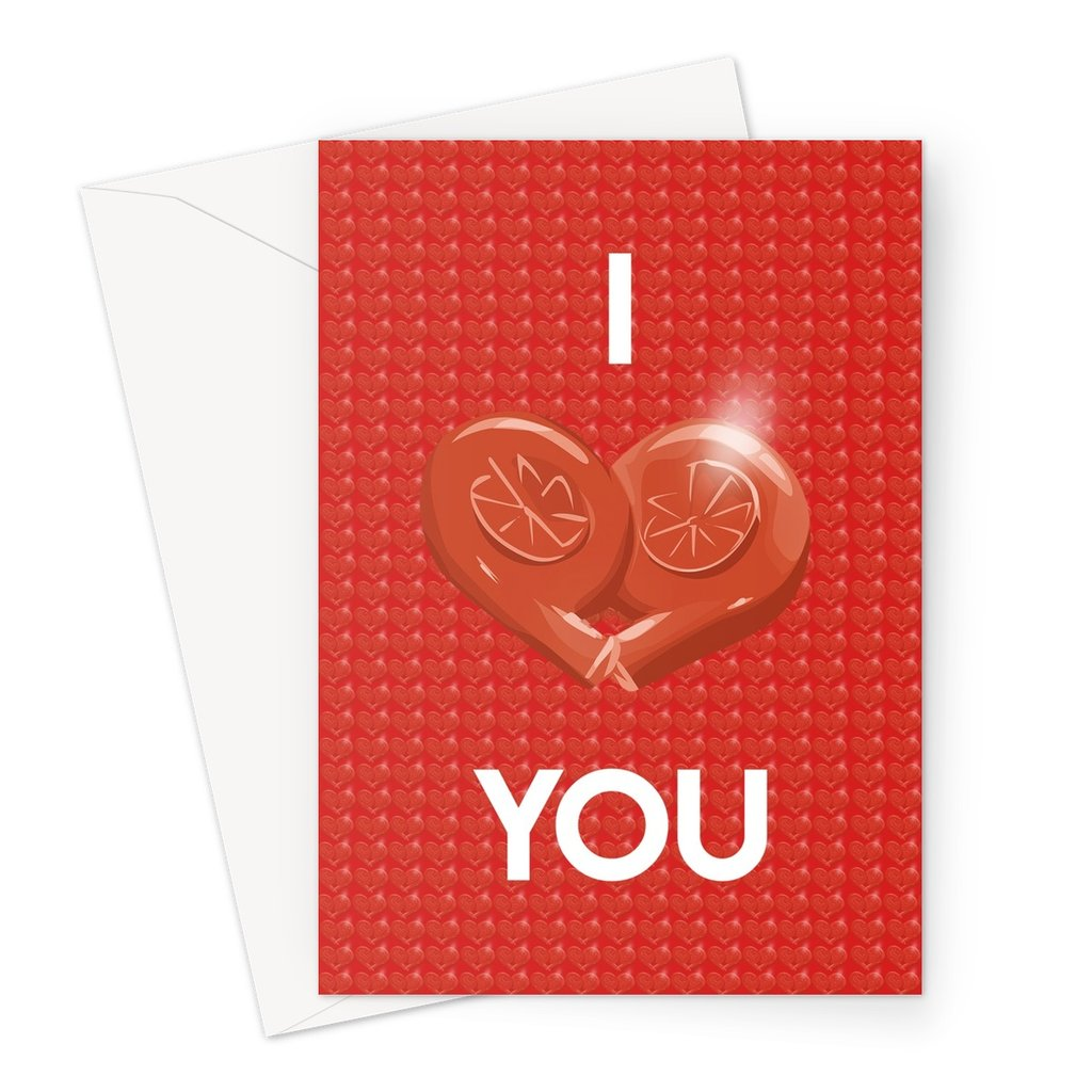 Turbo Heart You Greeting Card (V1)
