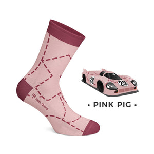 Heel Tread Socks - 917 Pack - Racing Legends