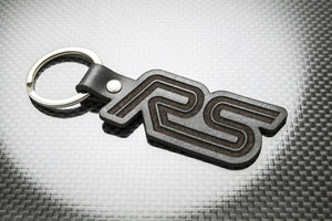 Leather Keychain for Ford Focus RS (MK1)