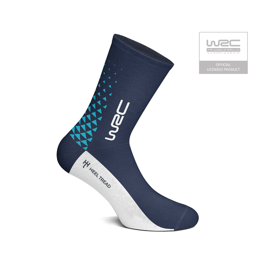 Heel Tread WRC (Blue/White) Socks