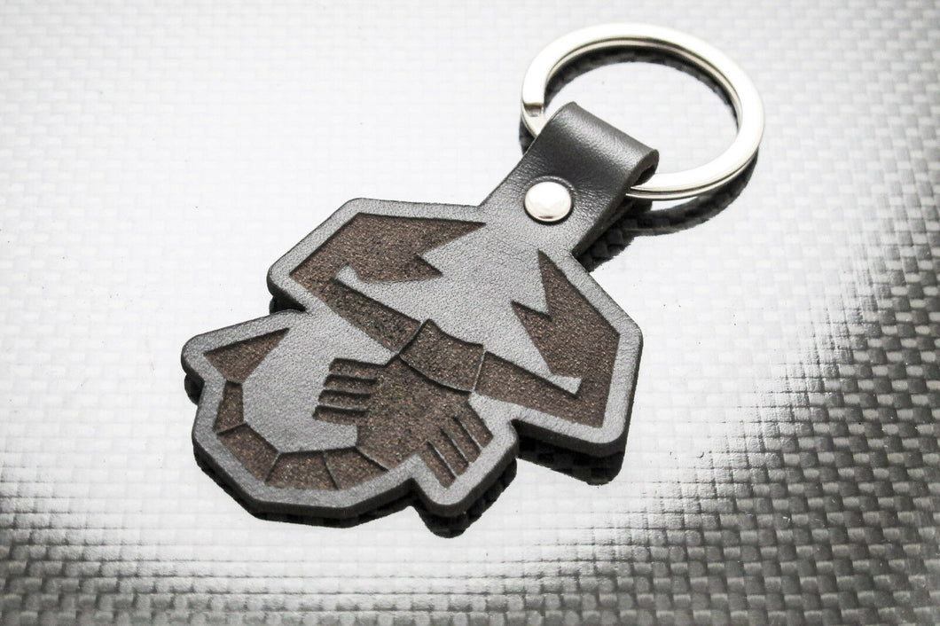 Leather Keychain for FIAT Abarth Scorpion