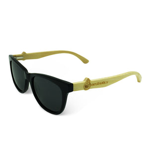 Boostnatics Bamboo Boosted Turbo Shades - Black / Polarized Black