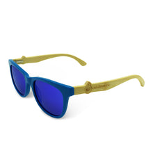 Boostnatics Bamboo Boosted Turbo Shades - Blue / Polarized Blue