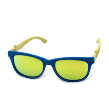 Boostnatics Bamboo Boosted Turbo Shades - Blue / Polarized Gold