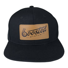 Boosted Status Snapback Hat - Black/Black